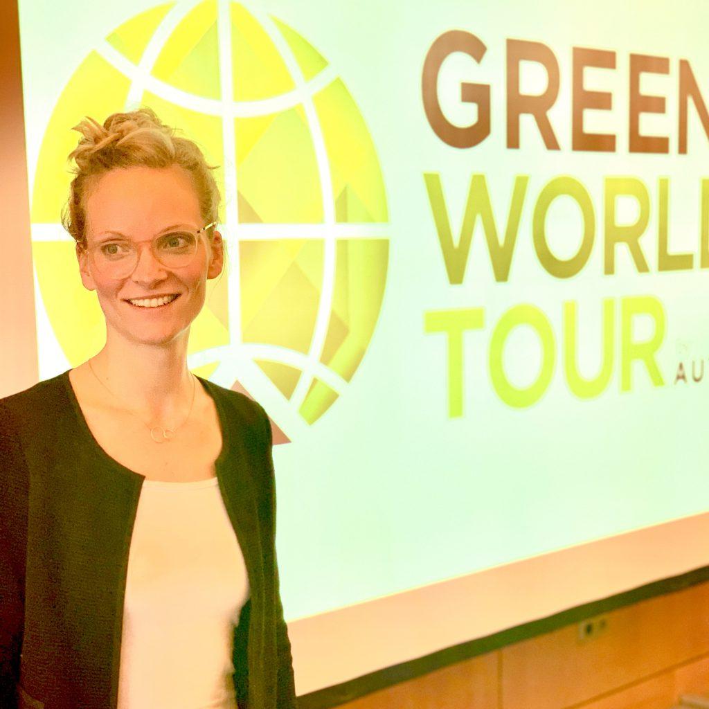 Ankathrin Förster als Referentin für Nachhaltig Guide