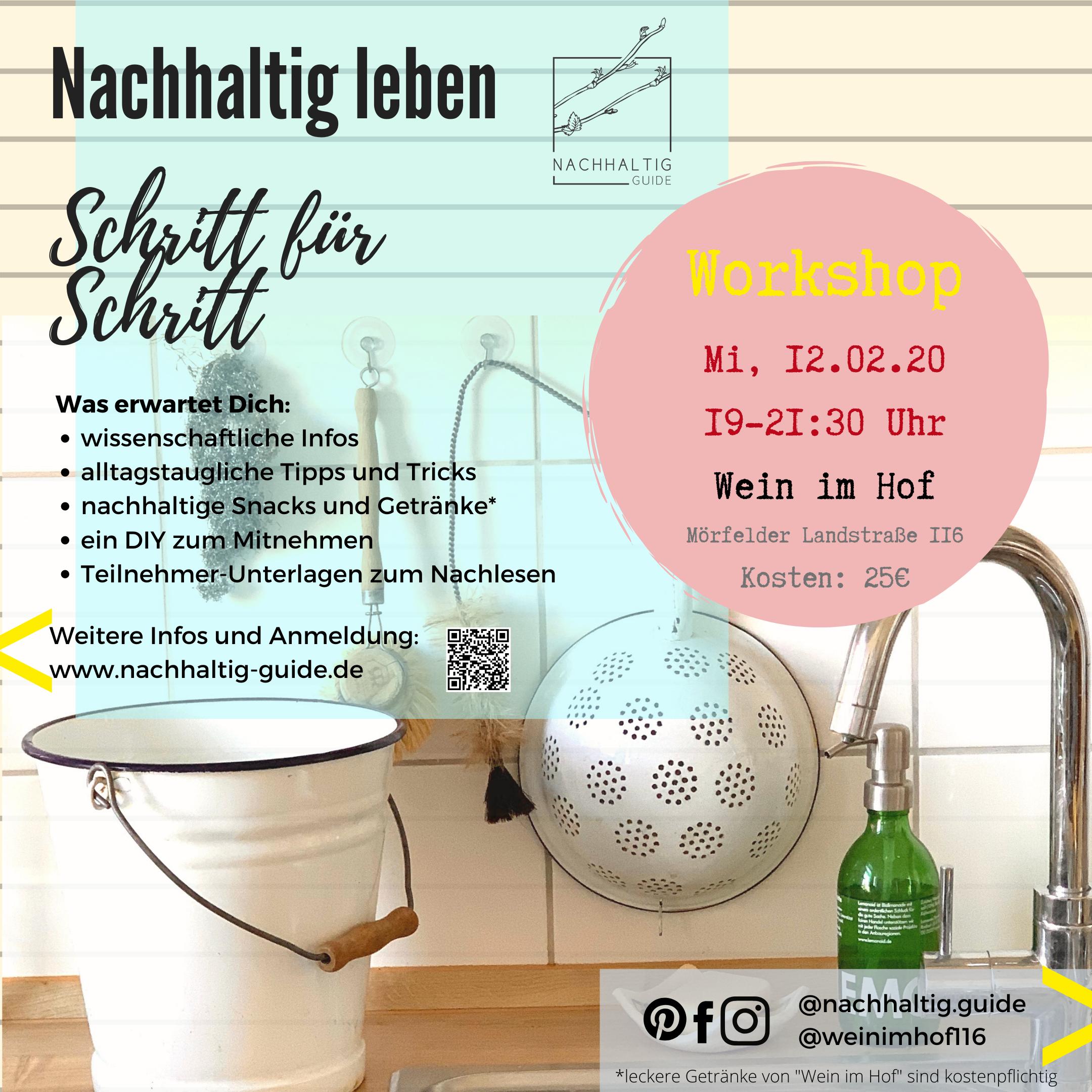 Starter-Workshop am Mittwoch, 12.02.2020, 19-21:30