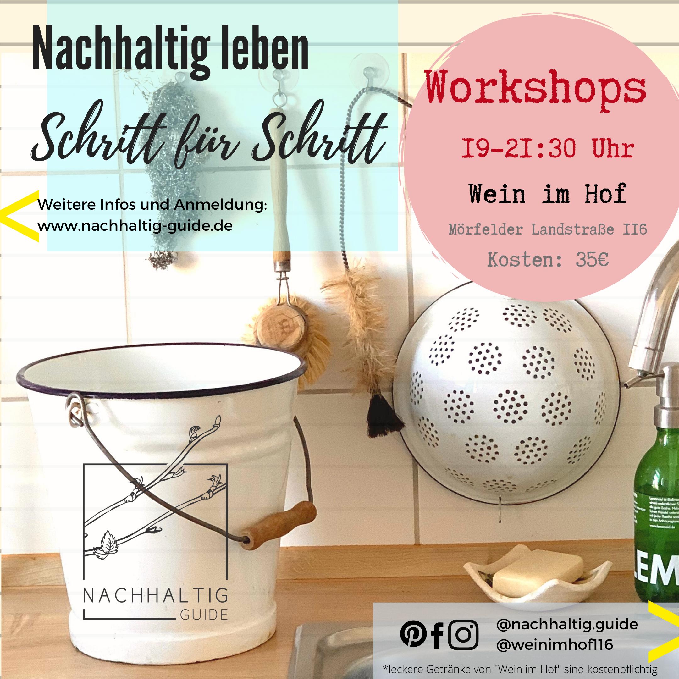 Starter-Workshop in Frankfurt - Nachhaltig leben