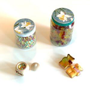 wiederverwendbare Süßigkeitendosen