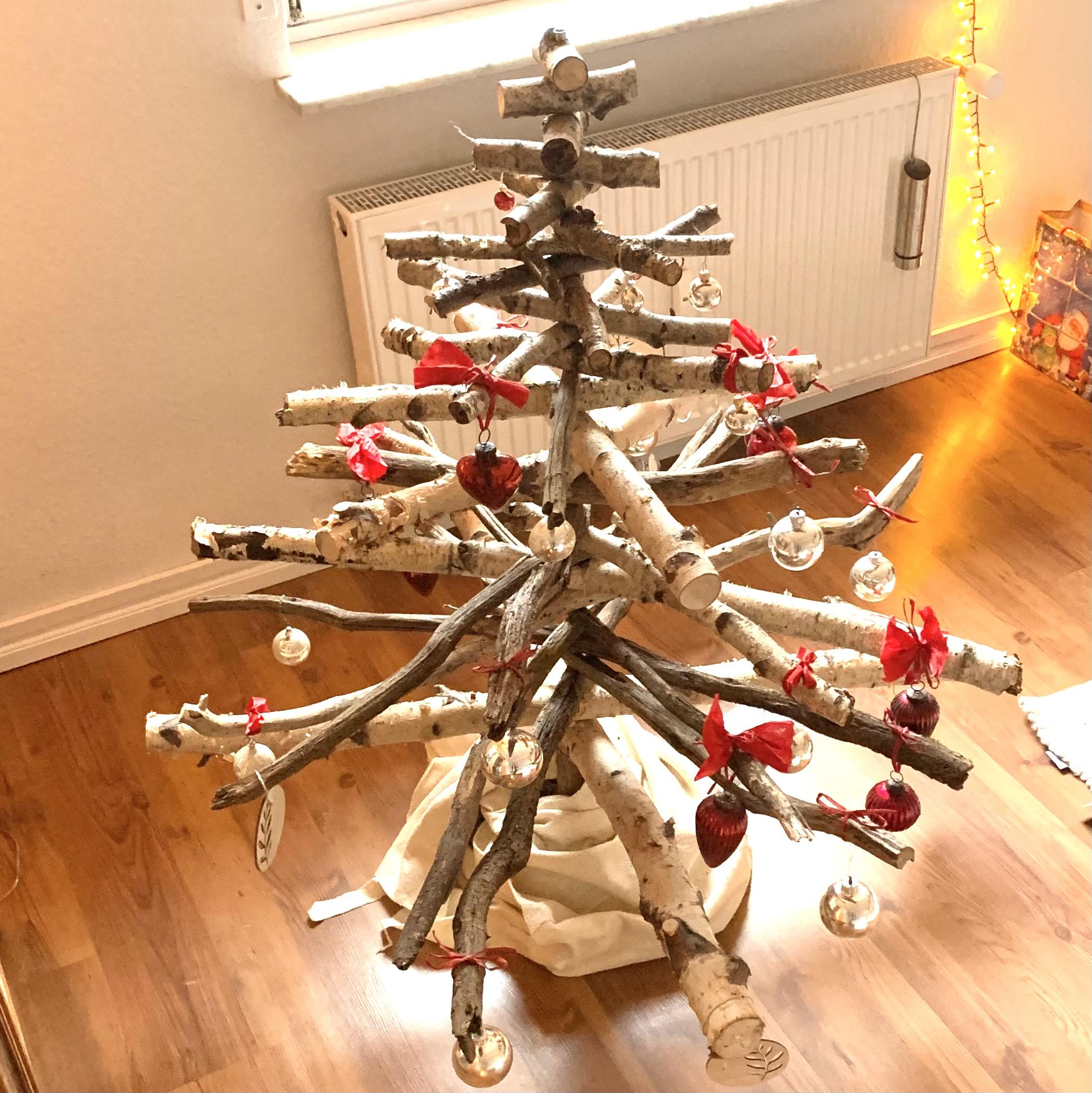 Nachhaltiger (DIY) Weihnachtsbaum