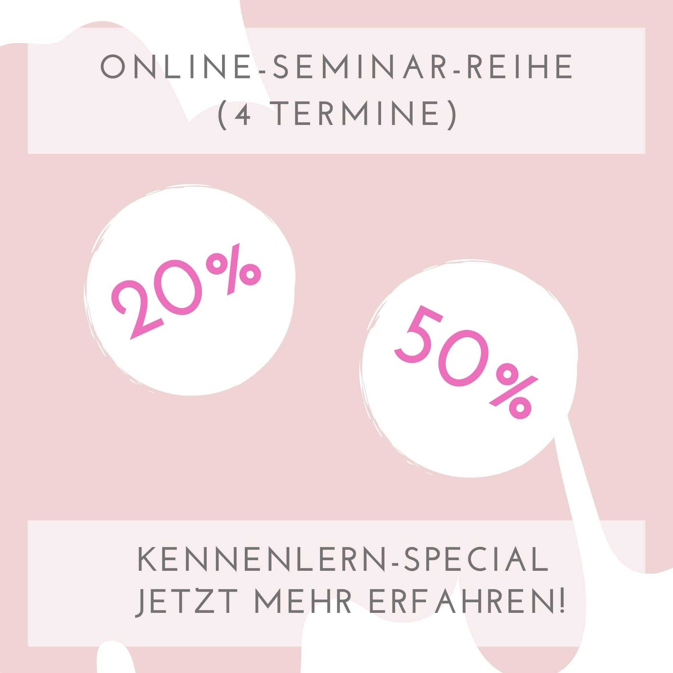 Kennenlernen-Special mit Rabatt bis zu 50%